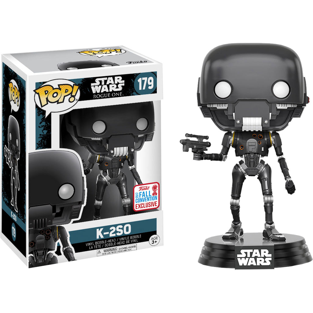 2017 Ny Fall Convention Pop Vinyl #179 Star Wars Rogue One K-2s0
