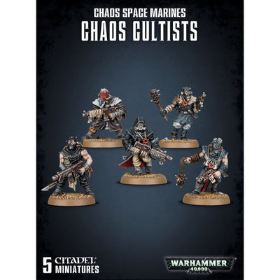 Warhammer 40,000 - Chaos Cultists
