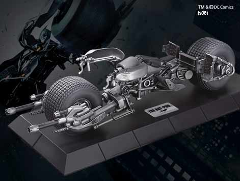 Batman The Dark Knight Batpod Die Cast Statue