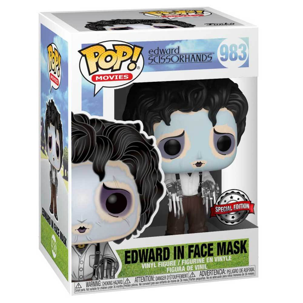 Edward Sissorhands - Edward in Face Mask Pop! #983