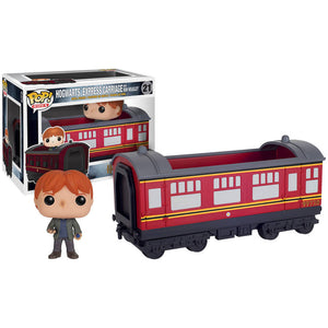 Hogwarts Express Carriage With Ron Weasley Pop Vinyl