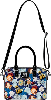 Doctor Who - Loungefly Chibi Print Bag