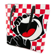 Felix The Cat - Loungefly Check Print Tote