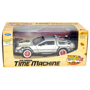 BTTF Die Cast Time Machine Delorean Car