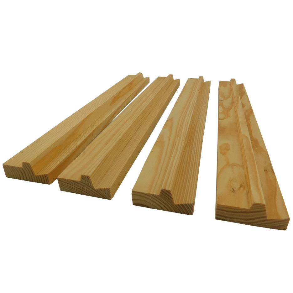 Mahjong Wood Racks 4 Pack
