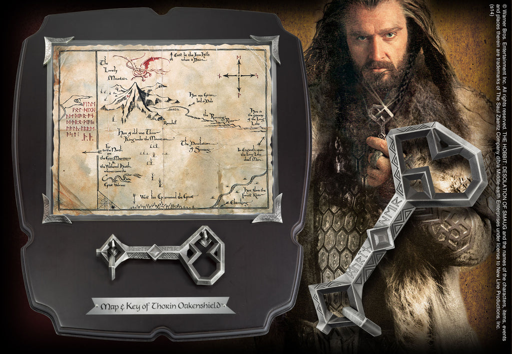 The hobbit replica 1/1 Thorin s Oakenshield s Map and Key