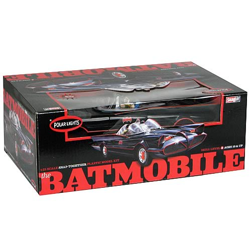 1:25 1966 batmoble tv plastic (with figures) kit movie