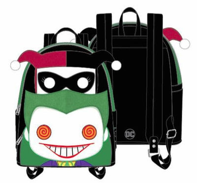 Loungefly - (POP) Harley and Joker Mini Backpack