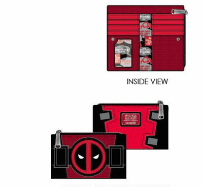 Loungefly - Deadpool Merc with a Mouth Purse