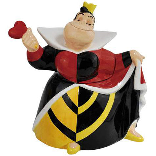 Alice In Wonderland Queen Of Hearts Cookie Jar