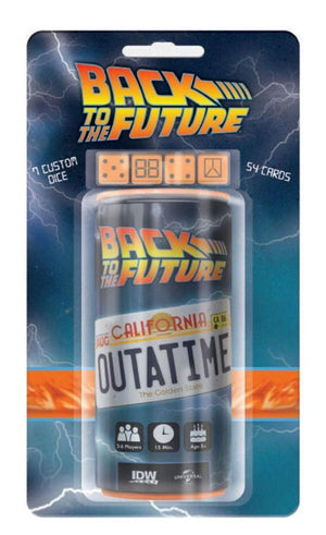 Back To The Future - Outatime Dice Game
