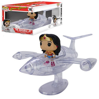 The Invisible Jet: With Wonder Woman Pop Vinyl #16