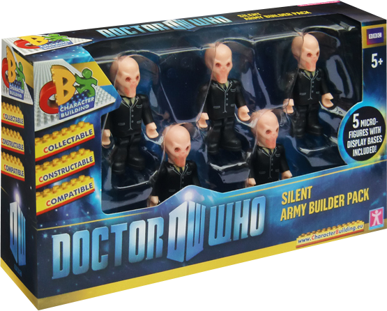 Doctor Who - Silent Army Character Building - 5 Pack