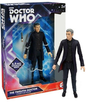 Doctor Who - Twelfth Doctor Black Shirt Action Figure