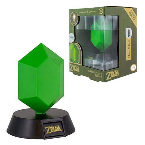 Zelda Green Rupee Light