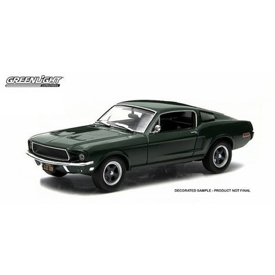 1:43 bullitt 1968 ford mustang fastback movie