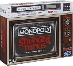 Stranger Things Collectors Edtion Manopoly
