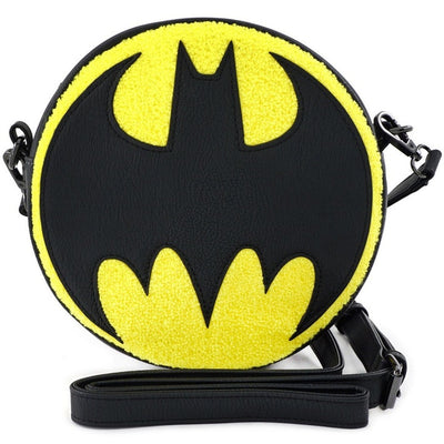 Batman logo cross body bag