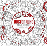 Doctor Who - Colouring Book - 'Doctor Who Travels in Time'