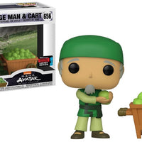 Avatar Tla - Cabbage Man & Cart Pop! 2pk Ny19 Rs