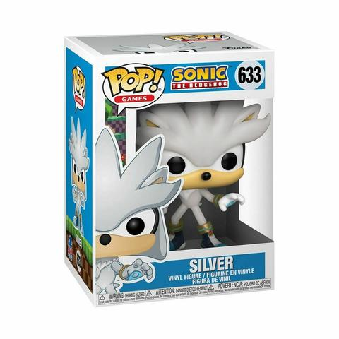 Sonic the Hedgehog - Silver 30th Anniversary Pop! Vinyl Figure #633