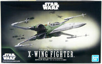Star Wars X-Wing Fighter (Rise of Skywalker) 1/72 Scale Model Kit Bandai