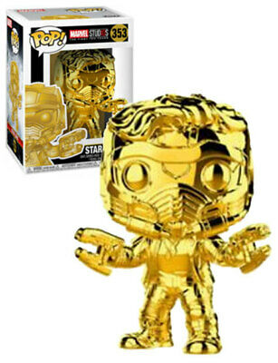 Marvel Studios - Star Lord (Gold) Pop! Vinyl #353