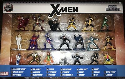 X-Men Nano Metalfigs