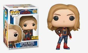 Captain Marvel - Captain Marvel W/Jacket Pop! Rs