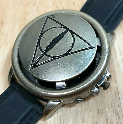 Harry Potter Wrist Watch - Deathly Hallows Spinner