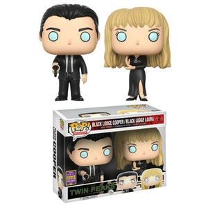 Twin Peaks Black Lodge Cooper/ Black Lodge Laura Pop 2pack