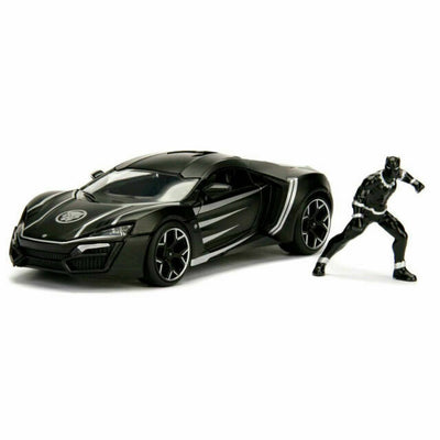 Avengers Black Panther Lykan Hypersport w/ figure 1:24