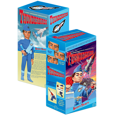 Thunderbirds Limited Edition Action Figure - Scott Tracy