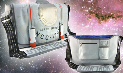 Star Trek Enterprises Ncc-1701 Messenger Bag
