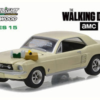 Walking Dead 1967 Ford Mustang Coupe Sophia Message Car 1:18