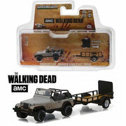 Walking Dead Michonnes Jeep and Trailer 1:64