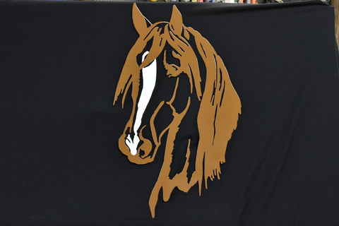 Steel Wall Art Of Horse