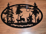 Large Metal Wildlife Nature Decor