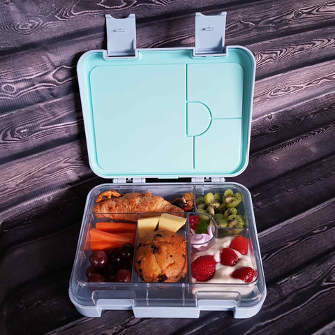 DEj KidS Light Blue Bento Lunchbox / Lunch box