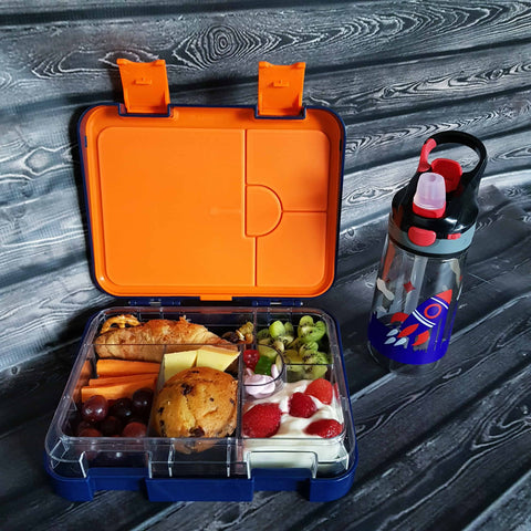 DEj KidS Bento Lunchbox with drink bottle