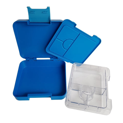 Compartment Lunch box NZ Blue