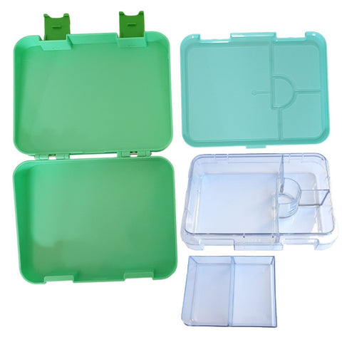 Compartment Lunch box NZ Green