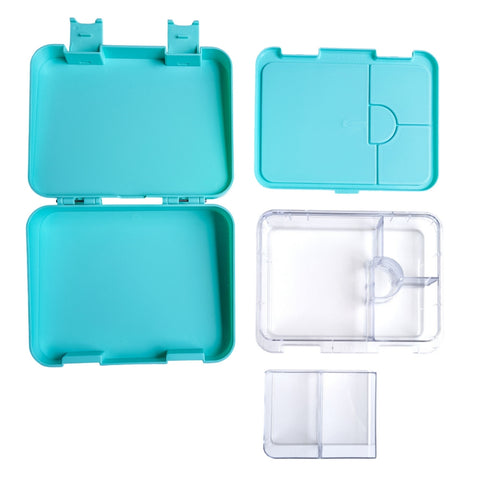 Compartment Lunch box NZ Mint Green