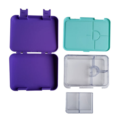 Compartment Lunch box NZ Purple