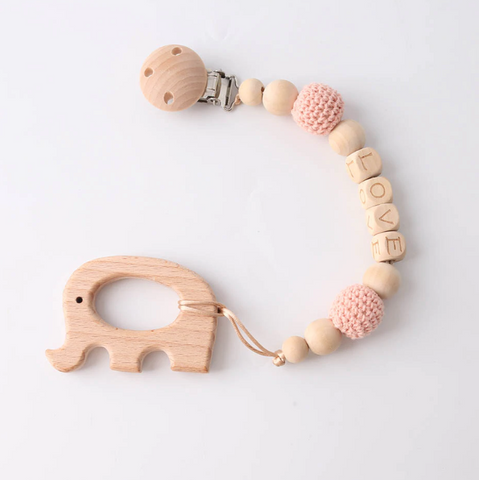 DEj KidS Wooden Toy Clip