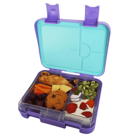 DEj KidS Purple Bento Lunchbox