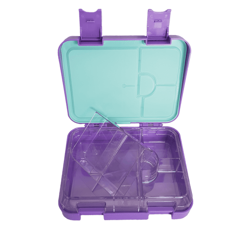 DEj KidS Purple Bento Lunchbox / Lunch box