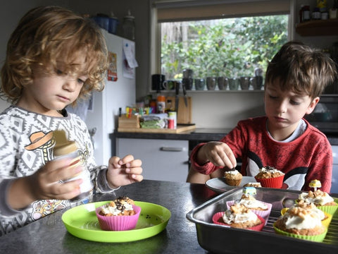 Kids baking recipe