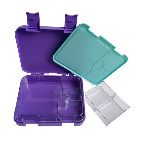 Leakproof Bento lunch box Purple