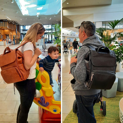Leather Nappy Bags NZ